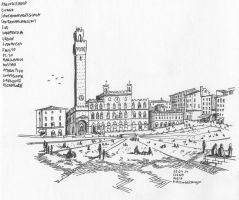 Piazza del Campo, Siena by bozwolfbros