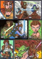 Topps Star Wars Galaxy 6 - 05 by JoeHoganArt