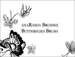 butterflies brush by anaRasha-stock