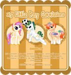 My Little Pony Commissions by Mudpatch