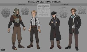 CCO: Feragni Clothing Styles by Merystic
