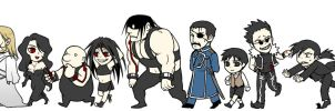 homunculus family by spaceS2cat