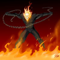 Ghost rider by Ferroconcrete247