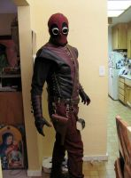 Another Steampunk Deadpool by TreeVor