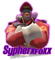 SypherXFoxx Icon by SagaHanson25