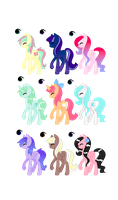 My Little Pony Adoptables (CLOSED) by PricessOfTheNight