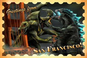 Greetings from San Francisco by slifertheskydragon