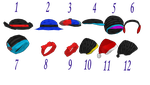 MMD Hats 2 by mbarnesMMD