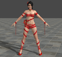 Dead or Alive 5 Ultimate - Christmas - Momiji by Irokichigai01