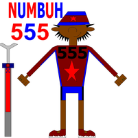 NUMBUH 555 by Flame-dragon