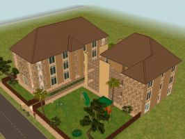 sims 2 apartment n. 4 p. 1 by PeaceInfinityStars