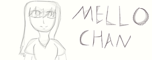my 1st sketch by Mello-chan91