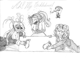 Ah My Ticklishness by RBM-Ink