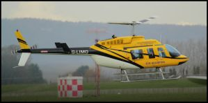 Bell 206L1 Long Ranger by SWAT-Strachan