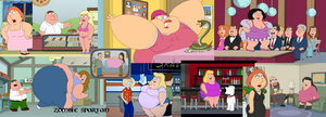 Family Guy Fat Women Collage by Zombie-Spartan