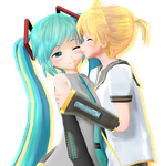 Vocaloid Pairing Project - 2 by maydayfireball