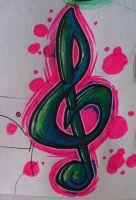 Musical note by xsoshx