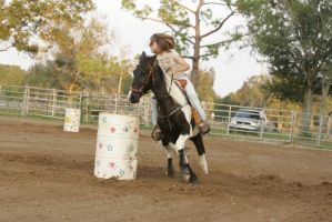 barrel racing02 by Kaliska