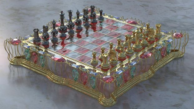 ChessBoard Low Cost Version 2 by agwesh