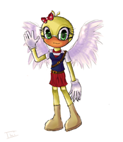Ducky Chan ToonTown by Ini-Inayah