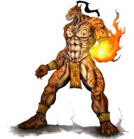 Fire Giant by MSpiral