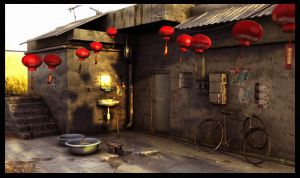Chinese New Year Coming by tonymtc