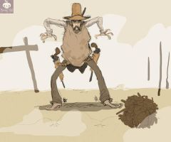 Cowboy quick sketch by MatteoLolli