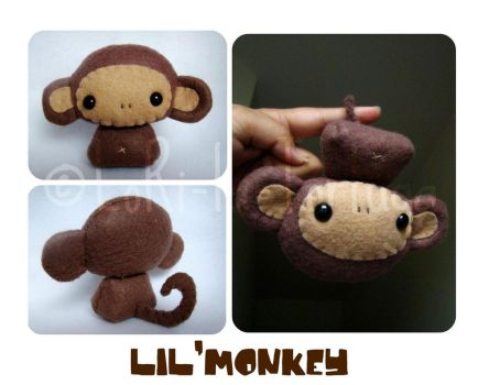 lil'monkey by LoRi-La-Tortuga