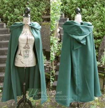 Fantasy / Medieval Cloak II by kaminohime