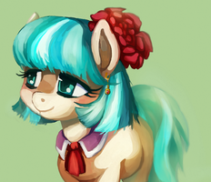 The lovely Coco Pommel by mywatercolorheart