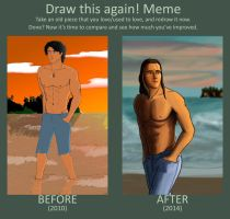 Draw it Again: 'Jacob Black' by SoulsticeCreation