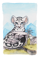 Snow leopard v.2 by Kamirah