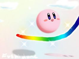 Touch Kirby by Fushidane