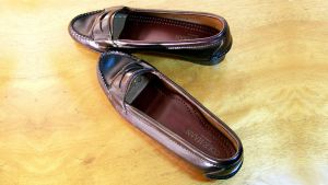 Jane's 1st Penny Loafers Age 14 Cordovan Cole-Haan by peerlesspenny