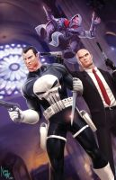 Executioners: Agent 47, Punisher, Ezio. by N3M0S1S