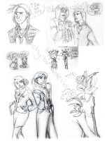 AssCreed sketch dump by The-Itchy-Bird