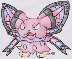 Old Pokemon, New Type 21: Snubbull by Shabou