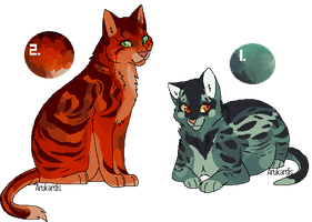 [Mystery Adopts] : Set 1 by Panderoo