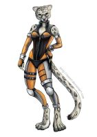 Commission: Sera - anthro form by emmil