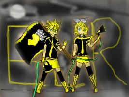 Kagamine Twins eager Love revenge by Shmivey