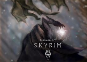 Skyrim fan art by y0uthanasia