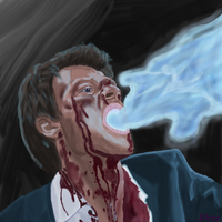 Cas Reclaiming His Grace by JayNovz