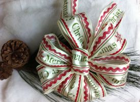 Large Merry Christmas Bows-For Sale by DreamstartheWarrior