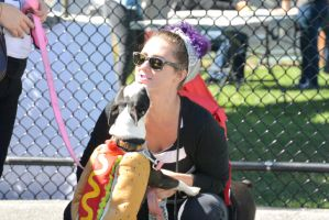 2014 Dog Festival, A Hot Dog Kiss by Miss-Tbones