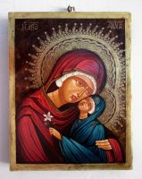 Saint Anne and Mary (mother of Jesus) by GalleryZograf