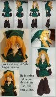 Link Legend of Zelda plushie by im-with-no-name
