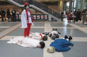 [APH] Chibitalia : The Planking Place by YumeNoSekaiPro