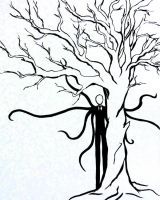 Slenderman by Artjoy