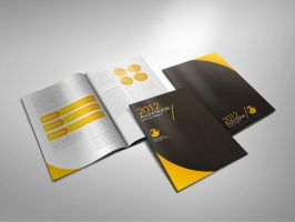 Avant garde annual report by Lemongraphic