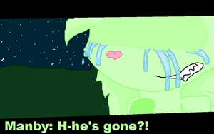 Manby (Anime-ish ) Crying momment by Shadymist122